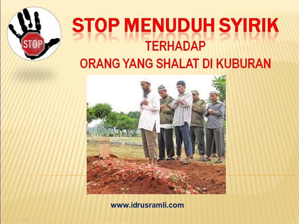 stop menuduh syirik