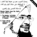 Nasihat Habib Umar