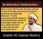 Meme Islami : Nasehat Sesudah Sholat