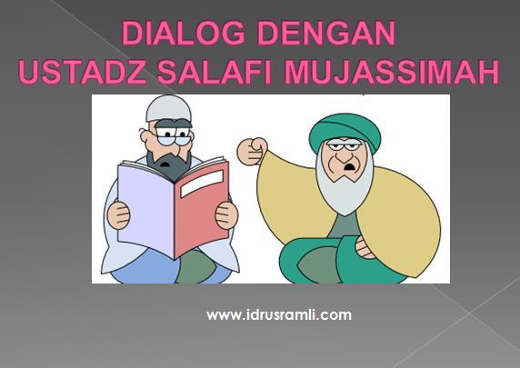 dialog ustadz wahabi mujassimah