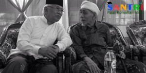 KH Mustofa Bisri dan KH Maimun Zubair.