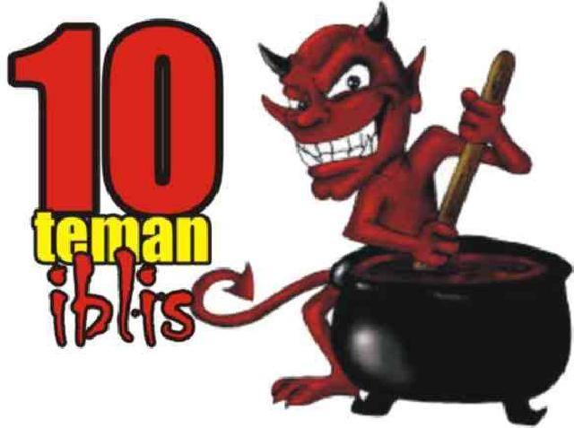 10 musuh  iblis