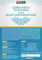 Lomba Karya Tulis Ilmiah untuk Islam dan Perdamaian